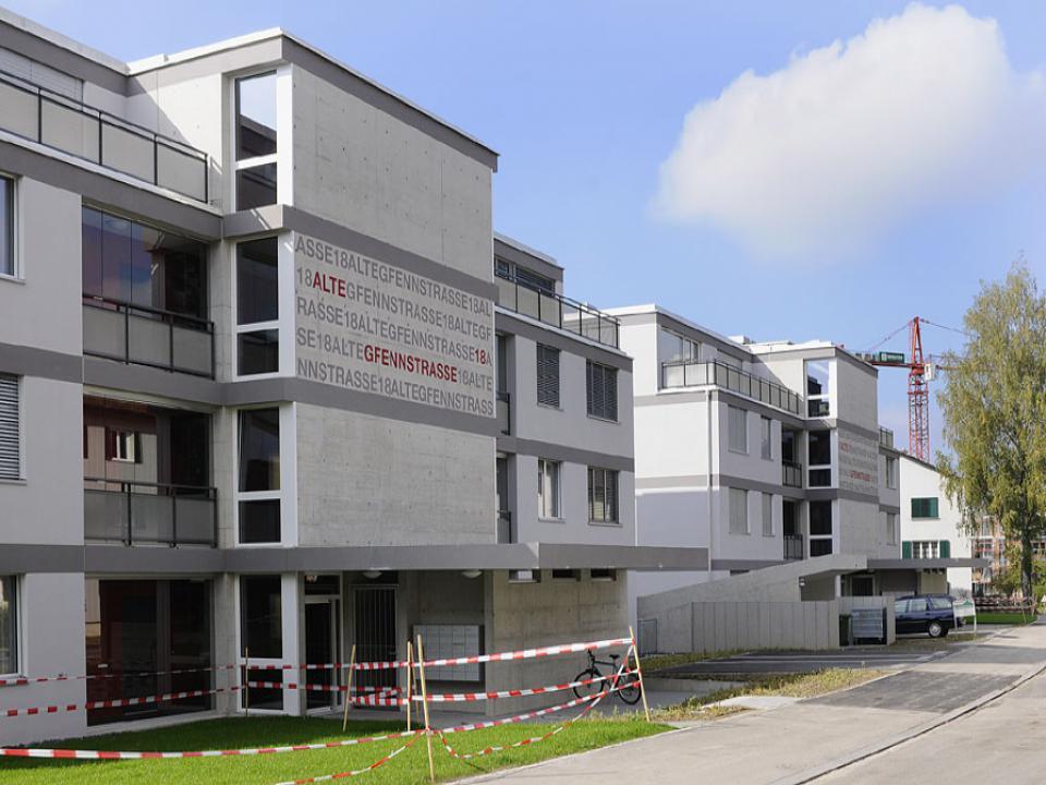 Mehrfamilienhäuser in Dübendorf